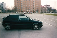 1987 Seat Ibiza Overview