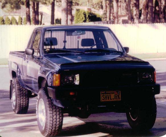 1984 Toyota Pickup, 1984 Toyota 4x4, exterior, gallery_worthy