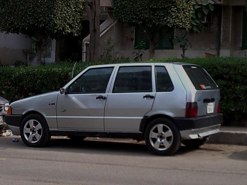 Silver New Cars Fiat Uno