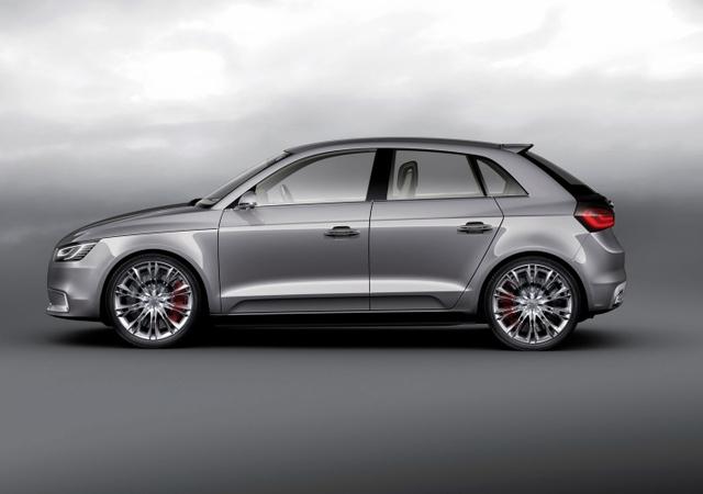 2010 Audi A1, Left Side View, exterior, manufacturer