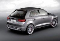 2010 Audi A1, Back Right Quarter View, exterior, manufacturer