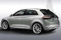 2010 Audi A1, Back Left Quarter View, exterior, manufacturer
