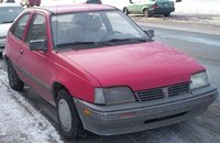 Picture of 1990 Pontiac Le Mans 2 Dr LE Coupe, exterior, gallery_worthy
