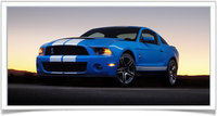 2010 Ford Shelby GT500 Coupe, Front-quarter view, exterior, manufacturer