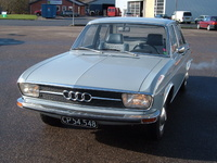 1972 Audi 100 Overview