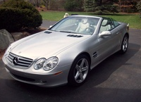 2004 Mercedes-Benz SL-Class 2 Dr SL500 Convertible, 2004 Mercedes-Benz SL500 picture, exterior