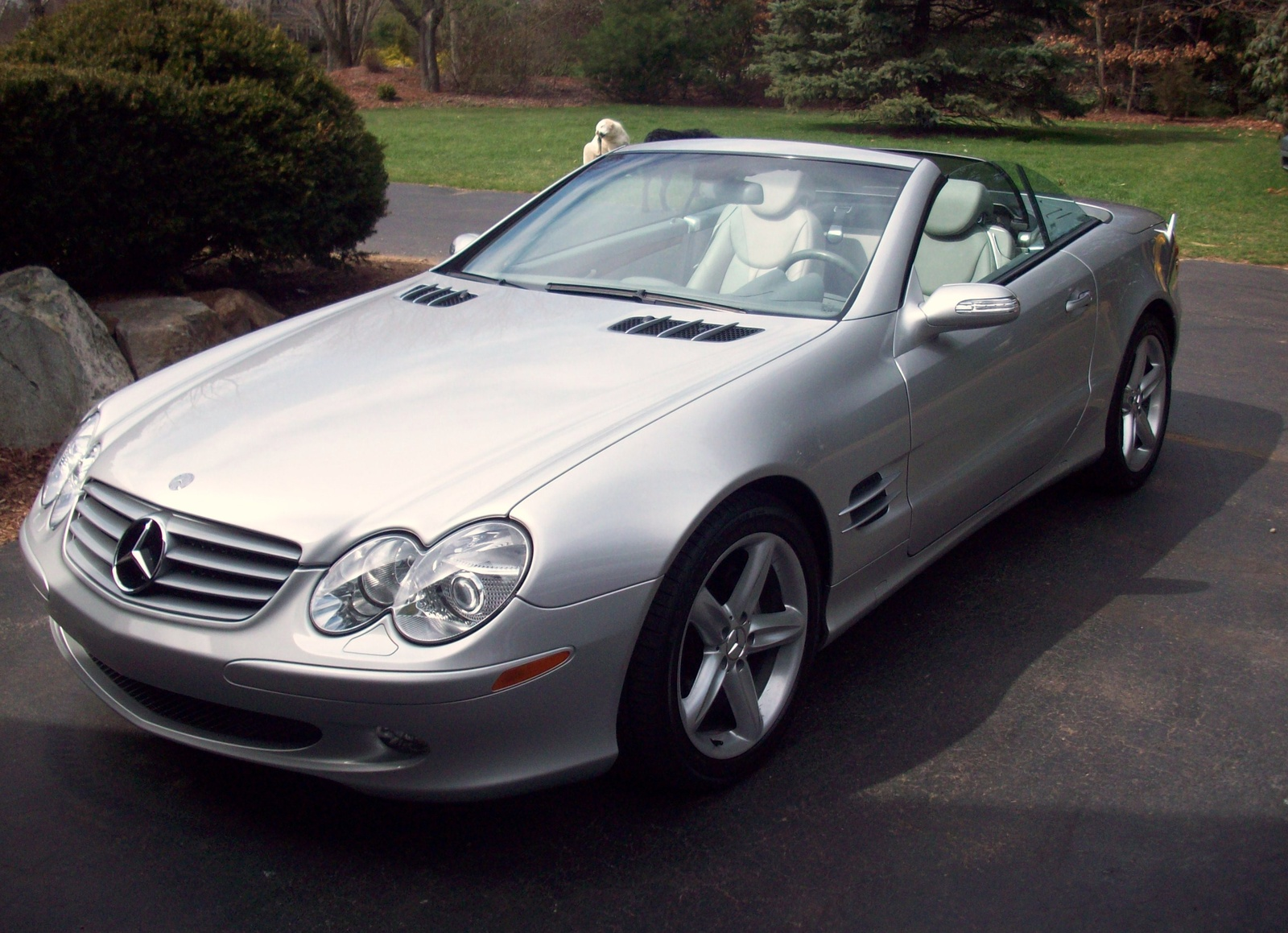 Picture of 2004 Mercedes-Benz SL-Class 2 Dr SL500 Convertible