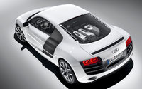 2010 Audi R8, Overhead Back Left Quarter View, exterior, manufacturer