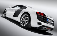 2010 Audi R8, Back Left Quarter View, exterior, manufacturer