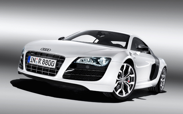 2010 Audi R8, Front Left Quarter View, exterior, manufacturer, gallery_worthy