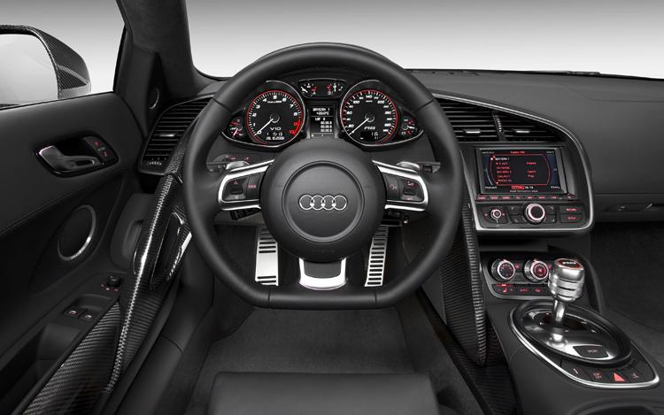 2010 Audi R8, Interior View, interior, manufacturer