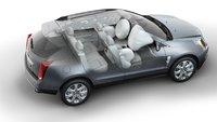 2010 Cadillac SRX, Overhead Interior/Exterior View, exterior, interior, manufacturer