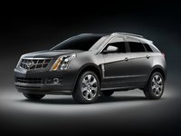 2010 Cadillac SRX, Front Left Quarter View, exterior, manufacturer, gallery_worthy