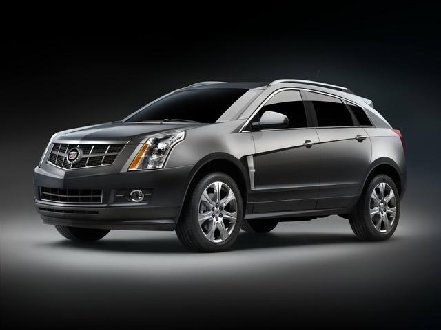 2010 Cadillac SRX, Front Left Quarter View, exterior, manufacturer