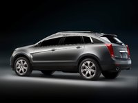 2010 Cadillac SRX, Back Left Quarter View, exterior, manufacturer