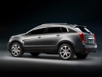 2010 Cadillac SRX, Back Left Quarter View, manufacturer, exterior
