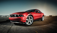 2010 Ford Mustang, Front Left Quarter View, manufacturer, exterior