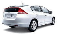 2010 Honda Insight, Back Right Quarter View, exterior, manufacturer