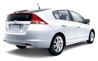 2010 Honda Insight, Back Right Quarter View, manufacturer, exterior