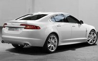 2010 Jaguar XF, Back Right Quarter View, exterior, manufacturer