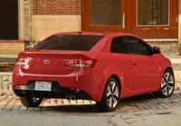2010 Kia Forte Koup, Back Right Quarter View, manufacturer, exterior