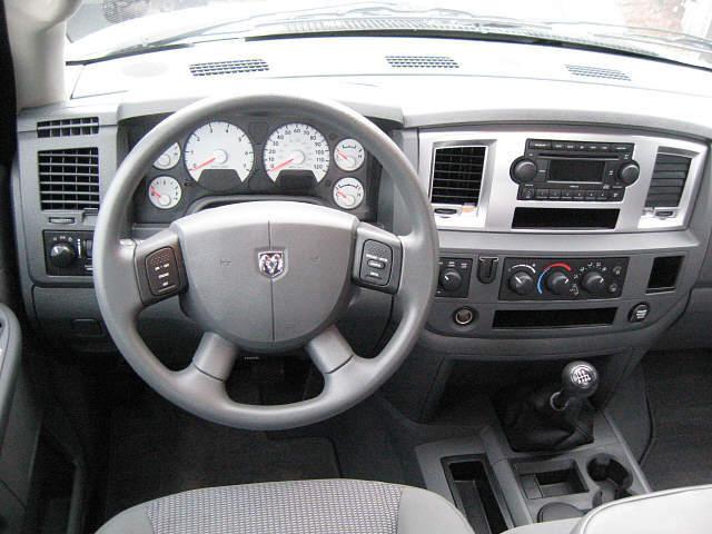 2007 Dodge Ram Pickup 1500 Interior Pictures Cargurus