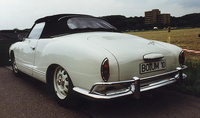 1964 Volkswagen Karmann Ghia Overview