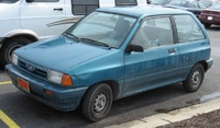 1988 Ford Festiva Overview