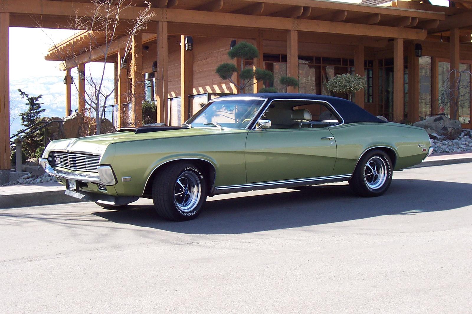 1969 Mercury Cougar, New Paint Job, exterior