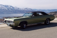 1969 Mercury Cougar, Okanagan Lake In the Back ground, exterior