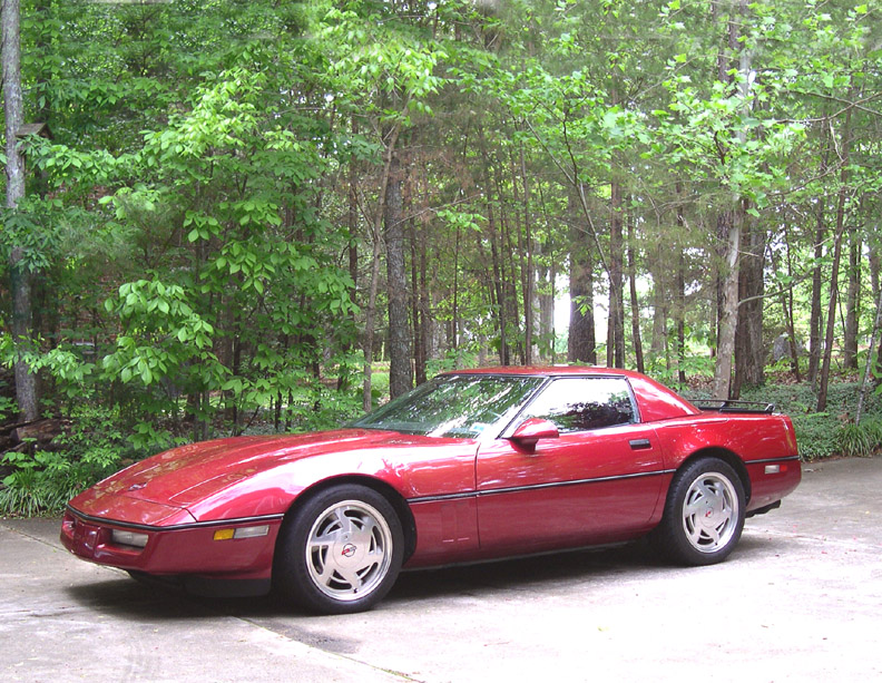 1989 Chevrolet Corvette Convertible picture