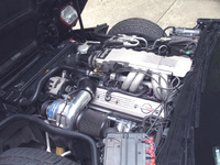 1989 Chevrolet Corvette Convertible picture, engine