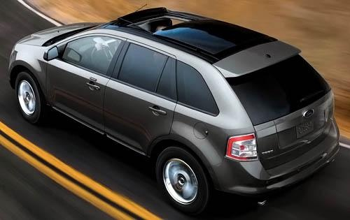 2010 Ford Edge, Overhead View, exterior, manufacturer