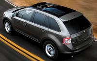 2010 Ford Edge, Overhead View, manufacturer, exterior