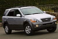 2009 Kia Sorento, Front Right Quarter View, manufacturer, exterior