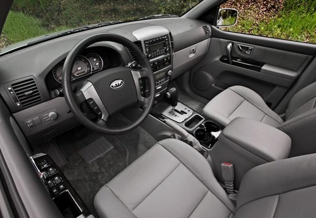 2009 Kia Sorento, Interior View, interior, manufacturer