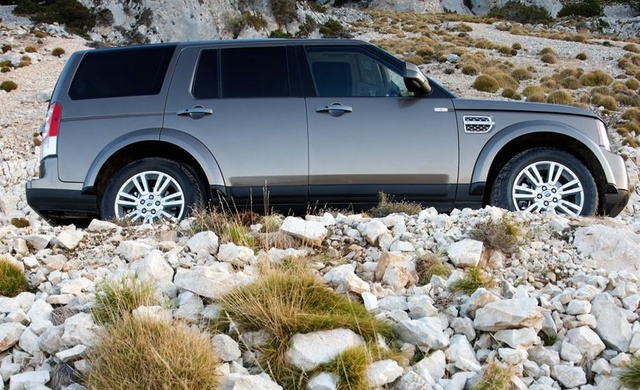2010 Land Rover LR4, Right Side View, exterior, manufacturer