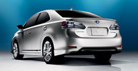 2010 Lexus HS 250h, Back Left Quarter View, exterior, manufacturer