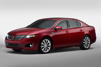 2010 Lincoln MKS, Front Left Quarter View, manufacturer, exterior