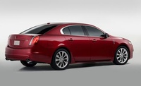 2010 Lincoln MKS, Back Right Quarter View, manufacturer, exterior