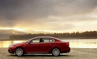 2010 Lincoln MKS, Left Side View, manufacturer, exterior