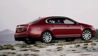 2010 Lincoln MKS, Back Right Quarter View, exterior, manufacturer