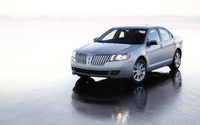 2010 Lincoln MKZ, Front Left Quarter View, manufacturer, exterior
