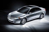 2010 Lincoln MKZ, Front Left Quarter View, exterior, manufacturer