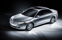 2010 Lincoln MKZ, Front Left Quarter View, exterior, manufacturer