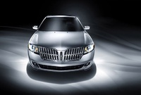 2010 Lincoln MKZ, Front View, exterior, manufacturer