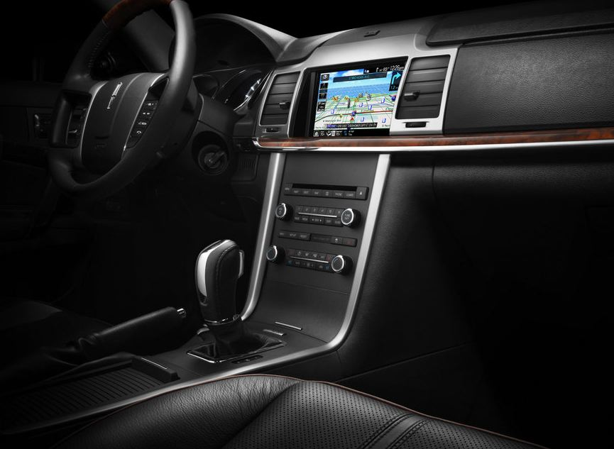 2010 Lincoln MKZ, Interior View, interior, manufacturer