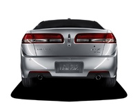 2010 Lincoln MKZ, Back View, exterior, manufacturer