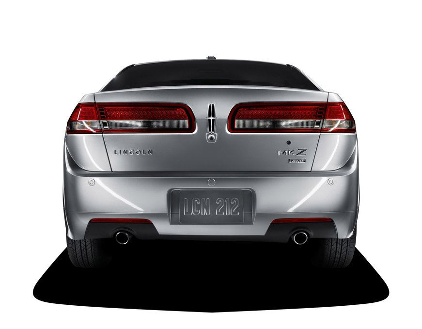 2010 Lincoln MKZ, Back View, manufacturer, exterior