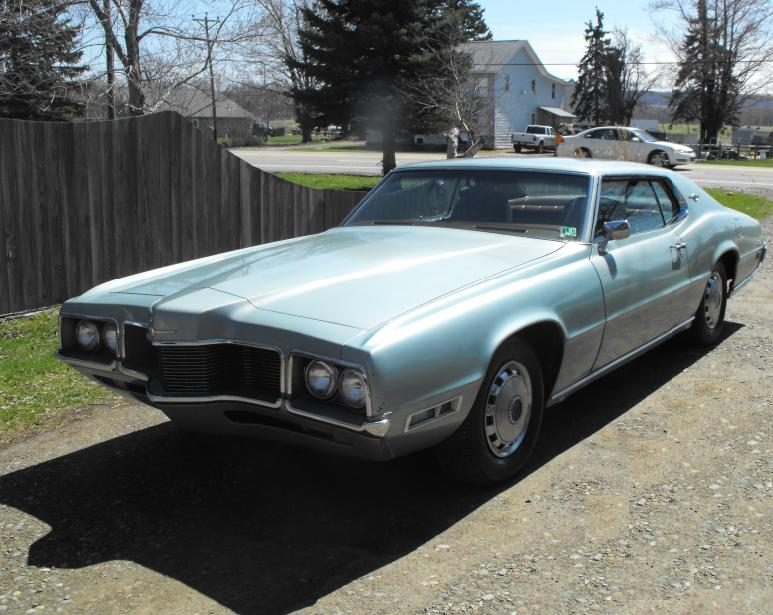 1970 Ford Thunderbird, 1970 T-bird, could use a little body work and ...